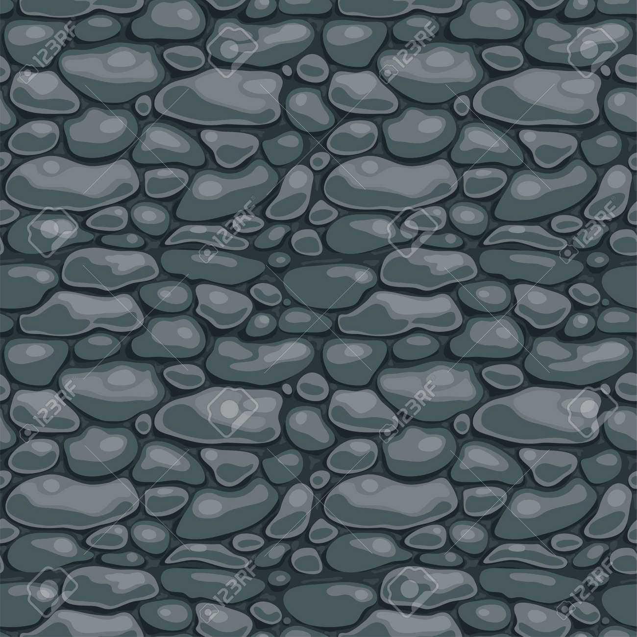 Rock Wall Texture Seamless Stone or Rock Wall Seamless