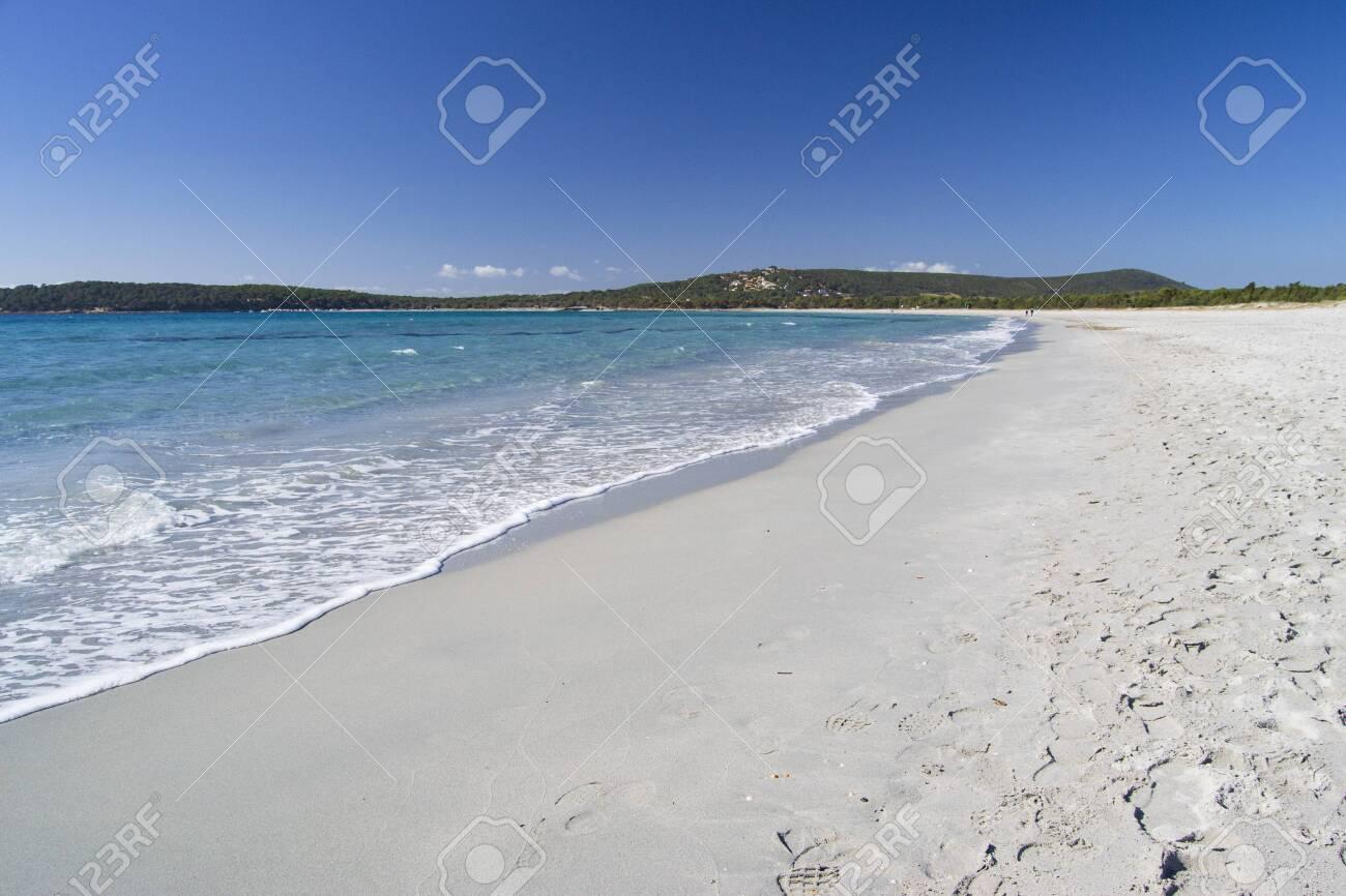 View of Porto Pino beach - 142027894