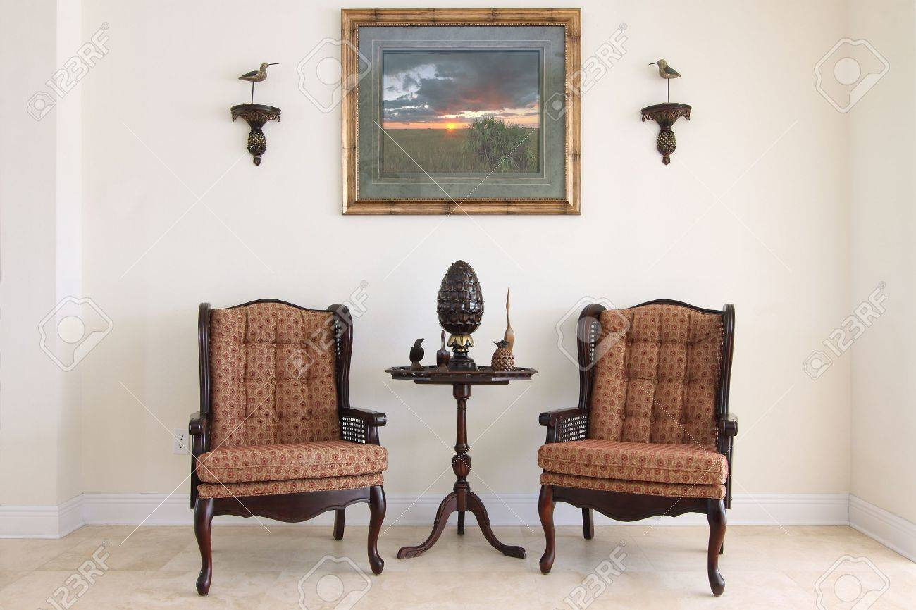 View of a beautiful formal classic sitting room Stock Photo - 11039024