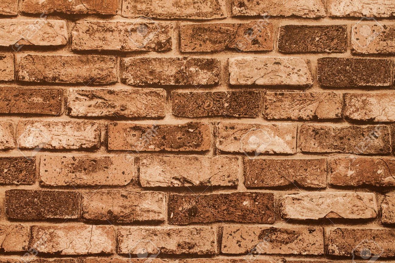 Peindre Un Mur De Brique fond de mur abstrait peinture brique rouge dans une pièce.