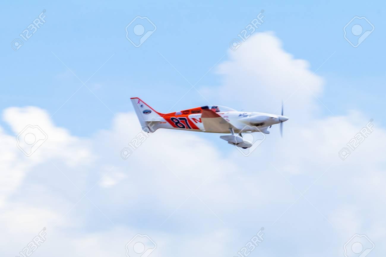 CHONBURI - THAILAND Nov, 20 : Steve Temple in his plane no 87