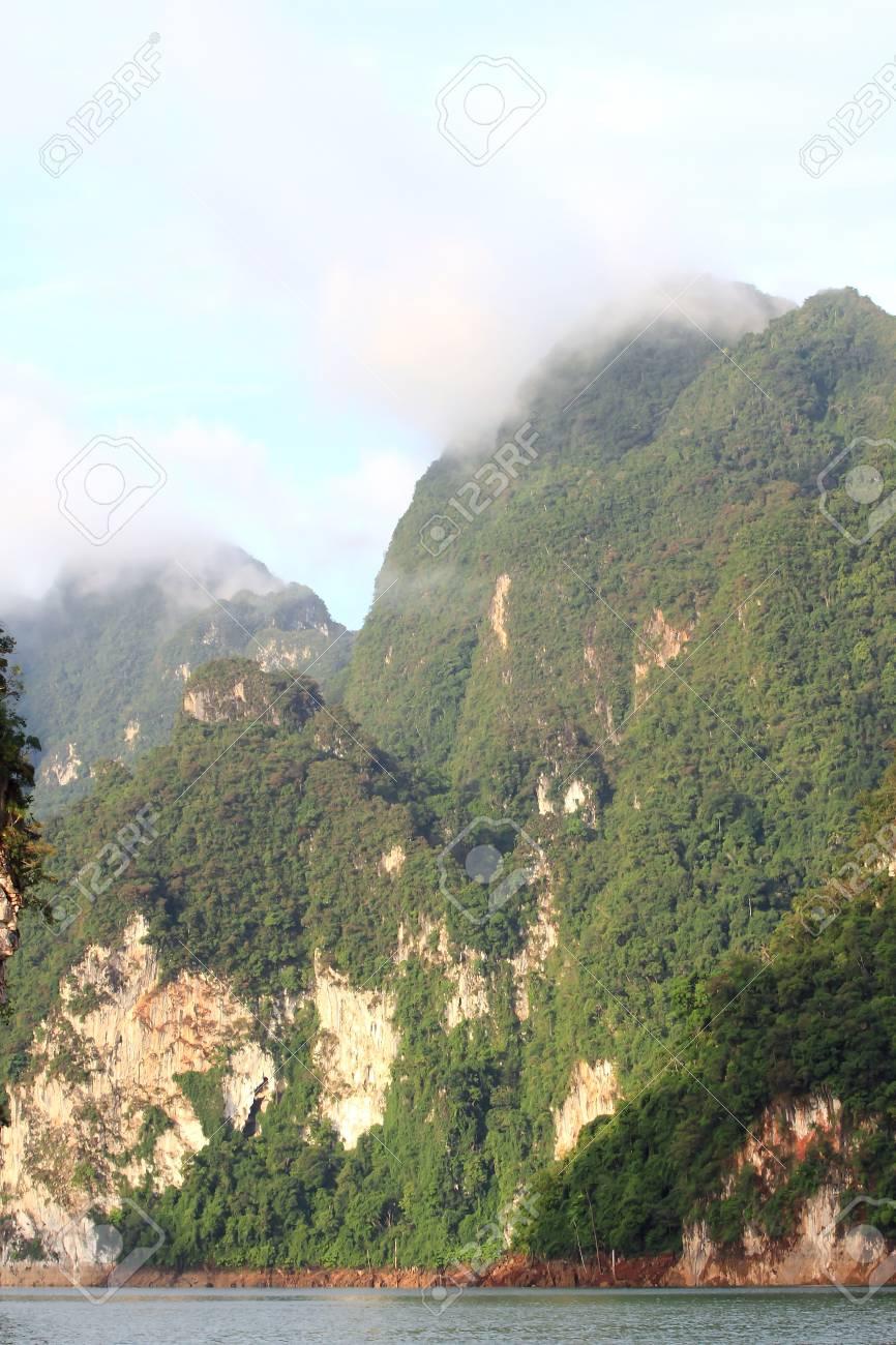 Khao-Sok, the popular national park of Thailand Stock Photo - 13731530