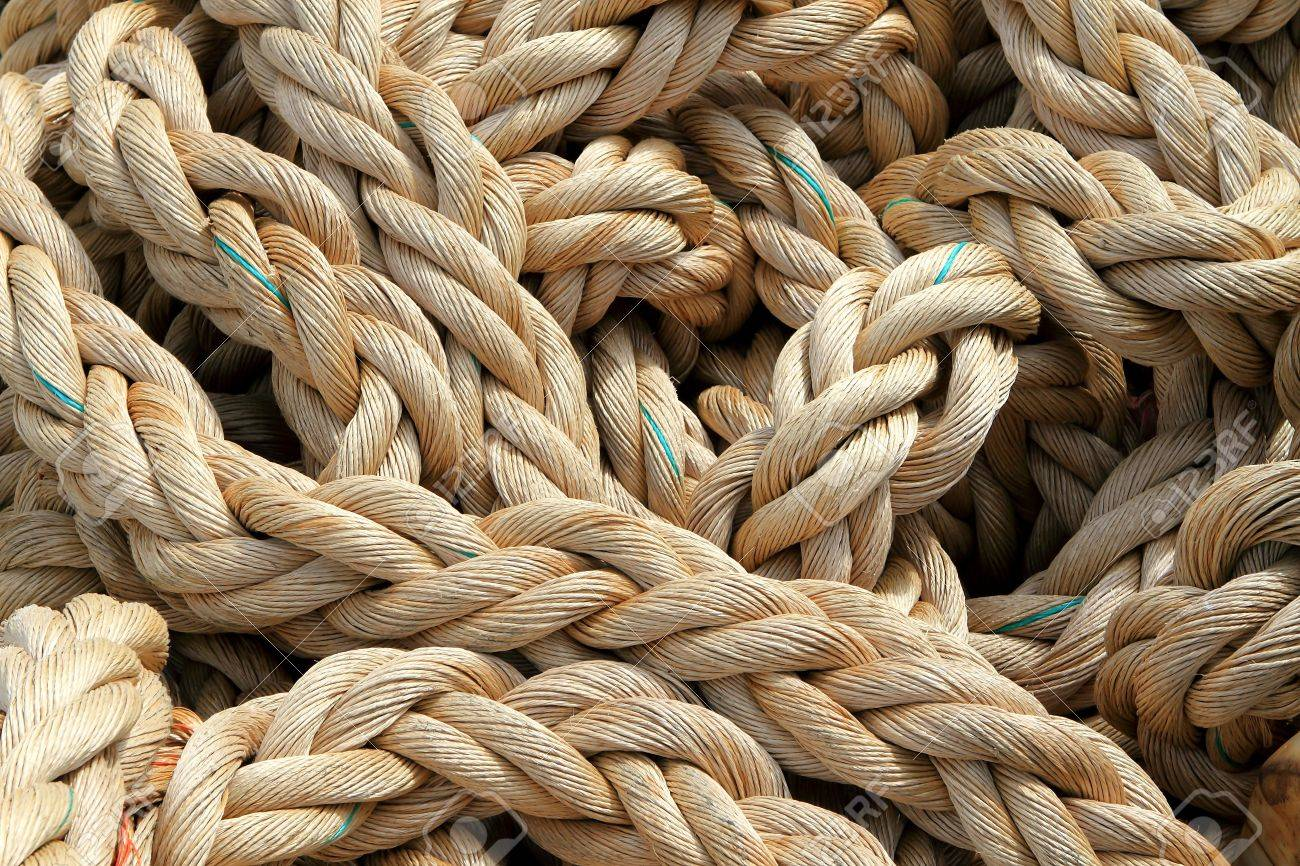 Marine rope background Stock Photo - 13982659
