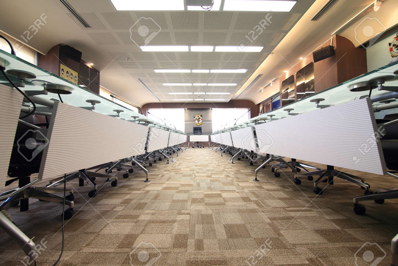 Business Meeting Room Or Boardroom Interiors Stock Photo Picture And Royalty Free Image Image 20738560