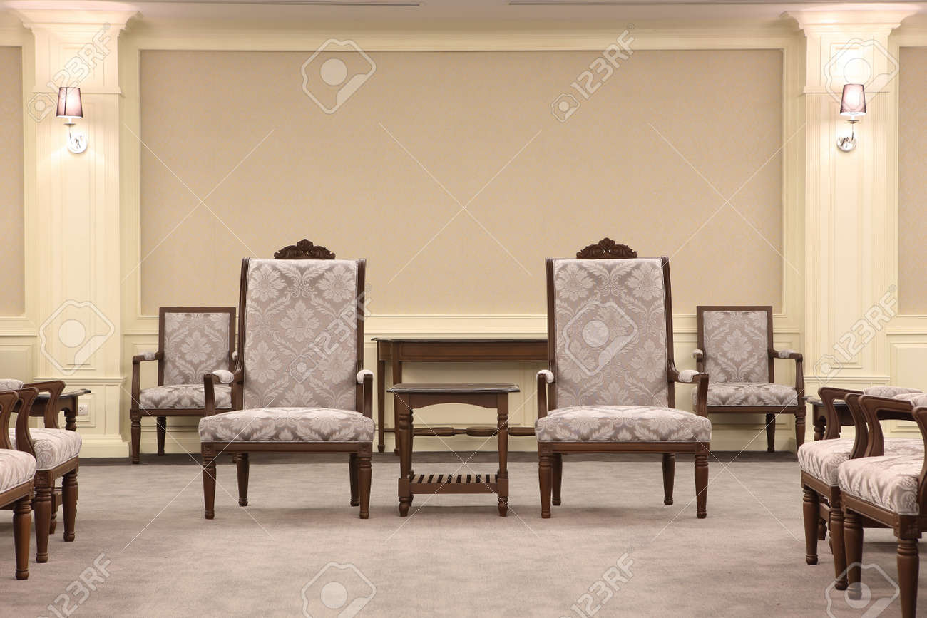 Concept of success with luxurious chair Stock Photo - 20738580