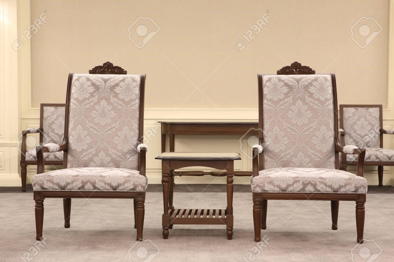 Concept of success with luxurious chair Stock Photo - 20758314