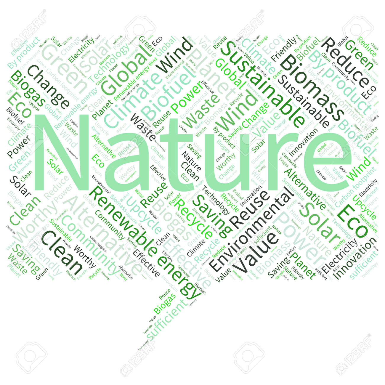 Poster design word - Ecology Earth Concept Word Collage Environmental Poster Design Template Stock Vector 40941737