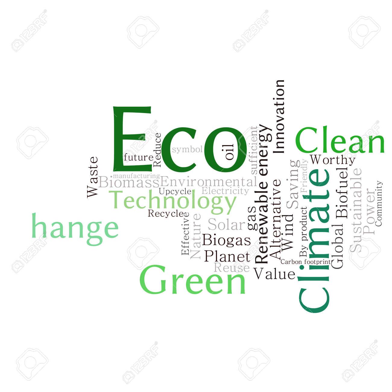 Ecology earth concept word collage environmental poster design environmental poster design template stock vector 45832206 maxwellsz