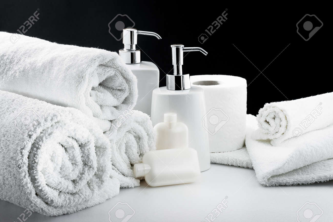 Bath Accessories And Thermal Environment Stock Photo, Picture And ...