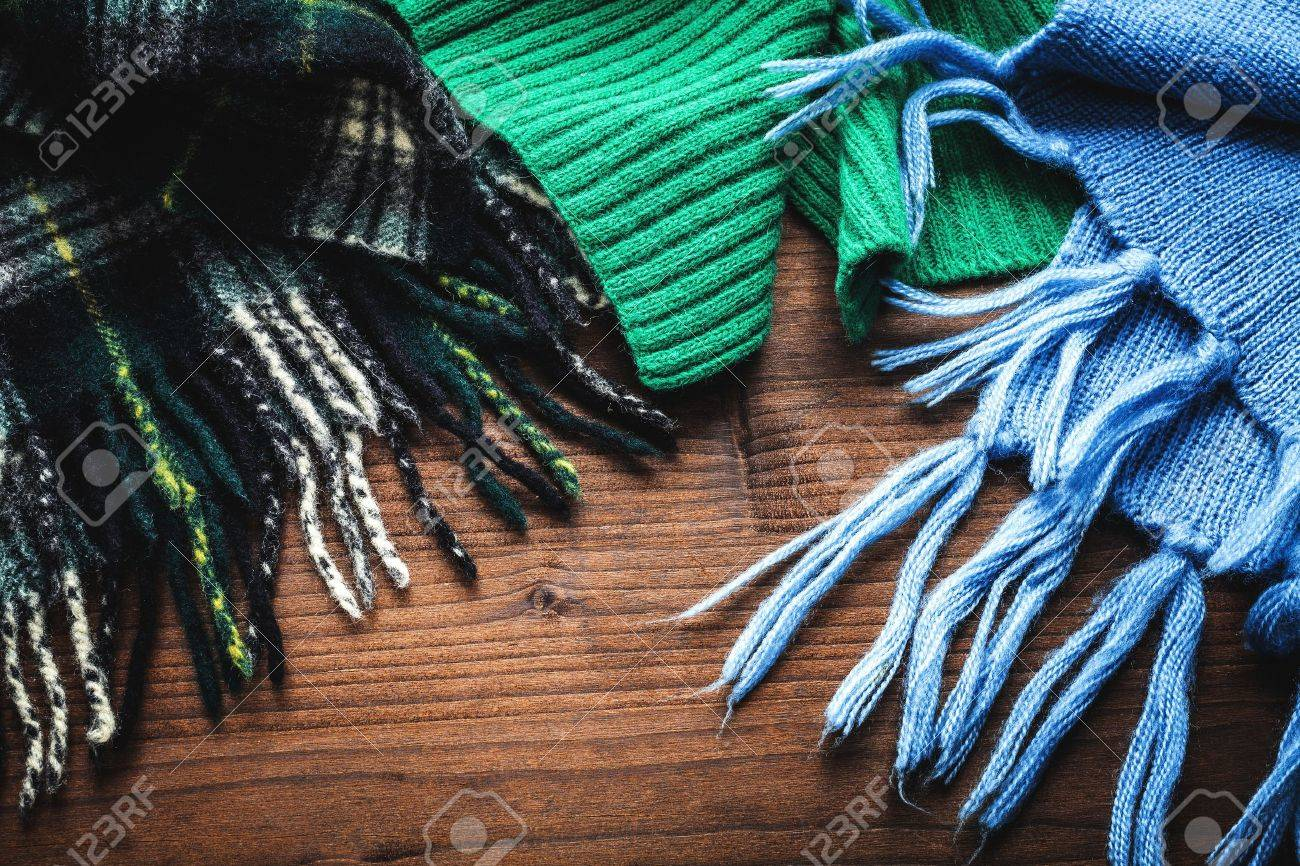 scarves for the winter - 16945878