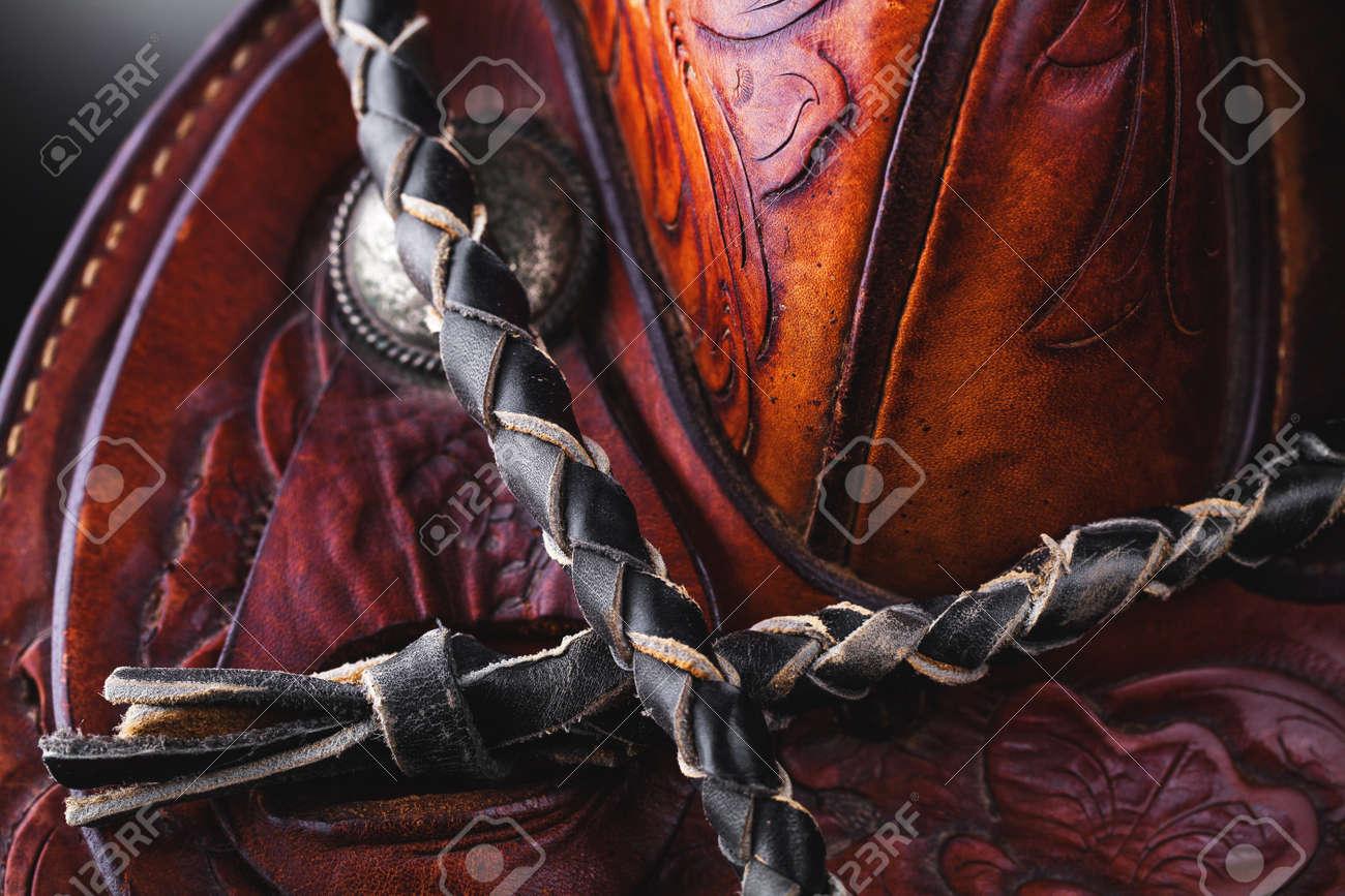 horse saddle - 19684971
