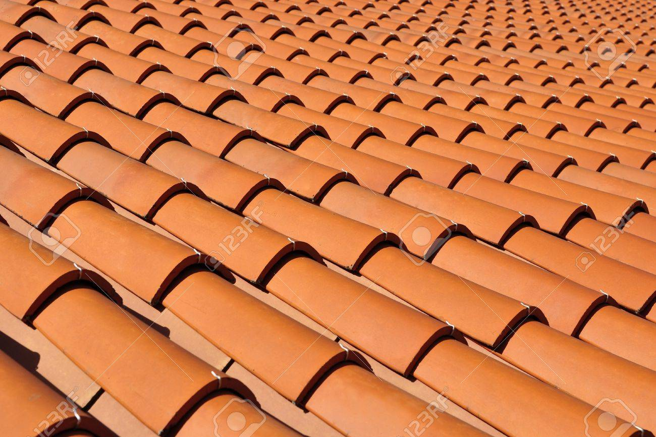 Orange roof tiles made from a ceramic material stock photo orange roof tiles made from a ceramic material stock photo 10621926 dailygadgetfo Images