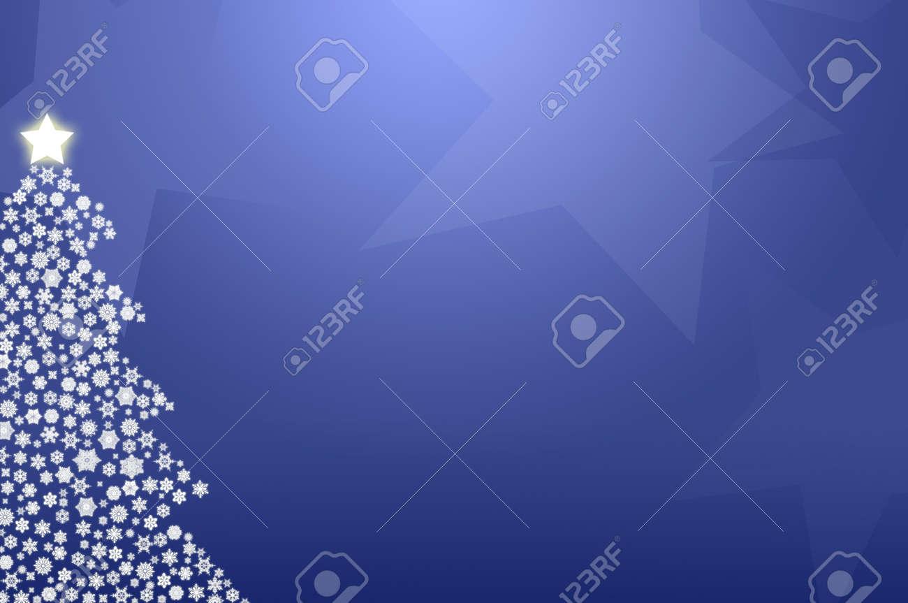 Bleu Arbre De Noel Papier Peint Genere Par Ordinateur Banque D