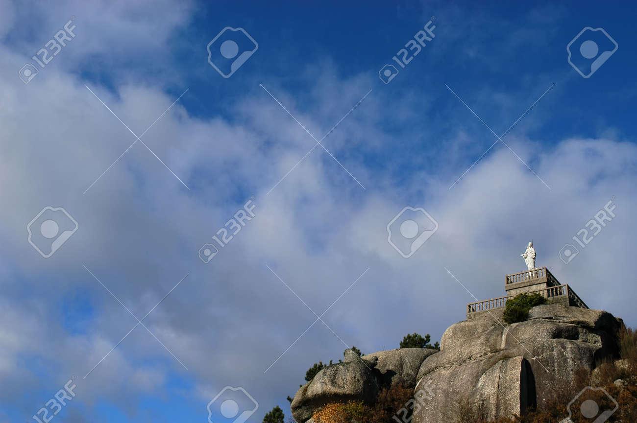 statue on the mountain Stock Photo - 676438