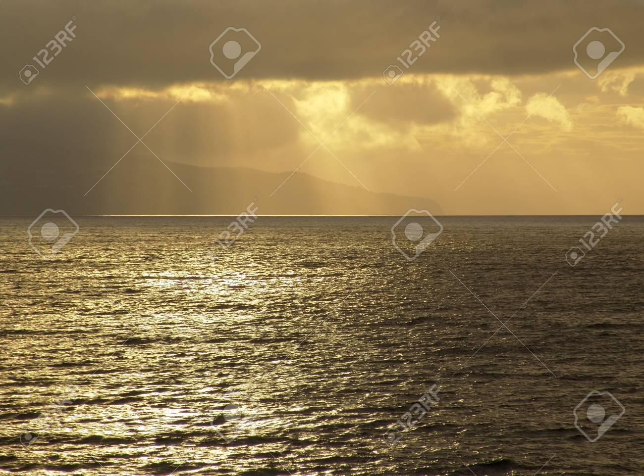 sunset at the sea Stock Photo - 785494