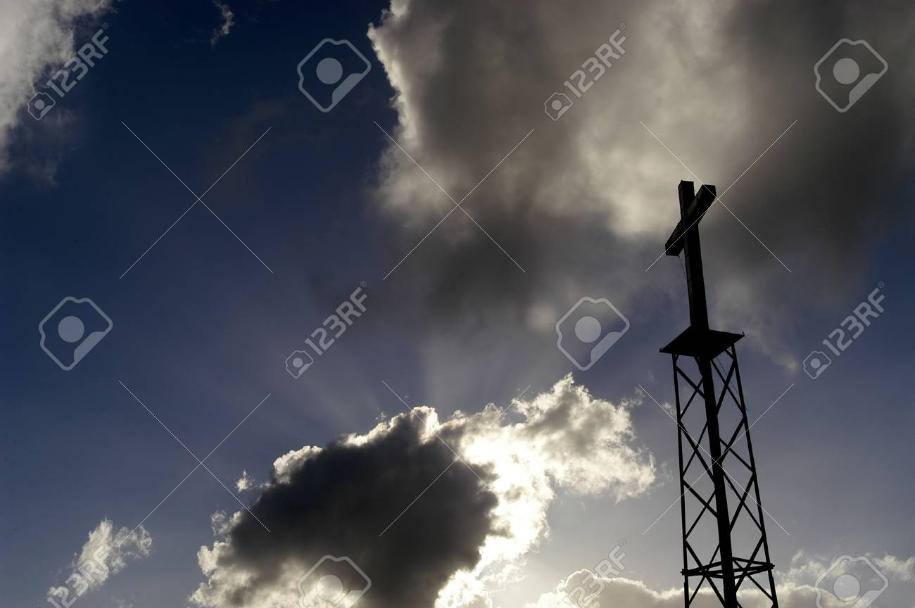 metal cross and the sky Stock Photo - 797817