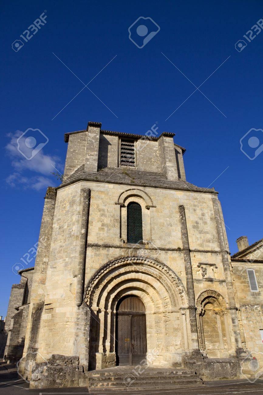 Saint Emilion ancient gothic church, Aquitaine, France Stock Photo - 16137210