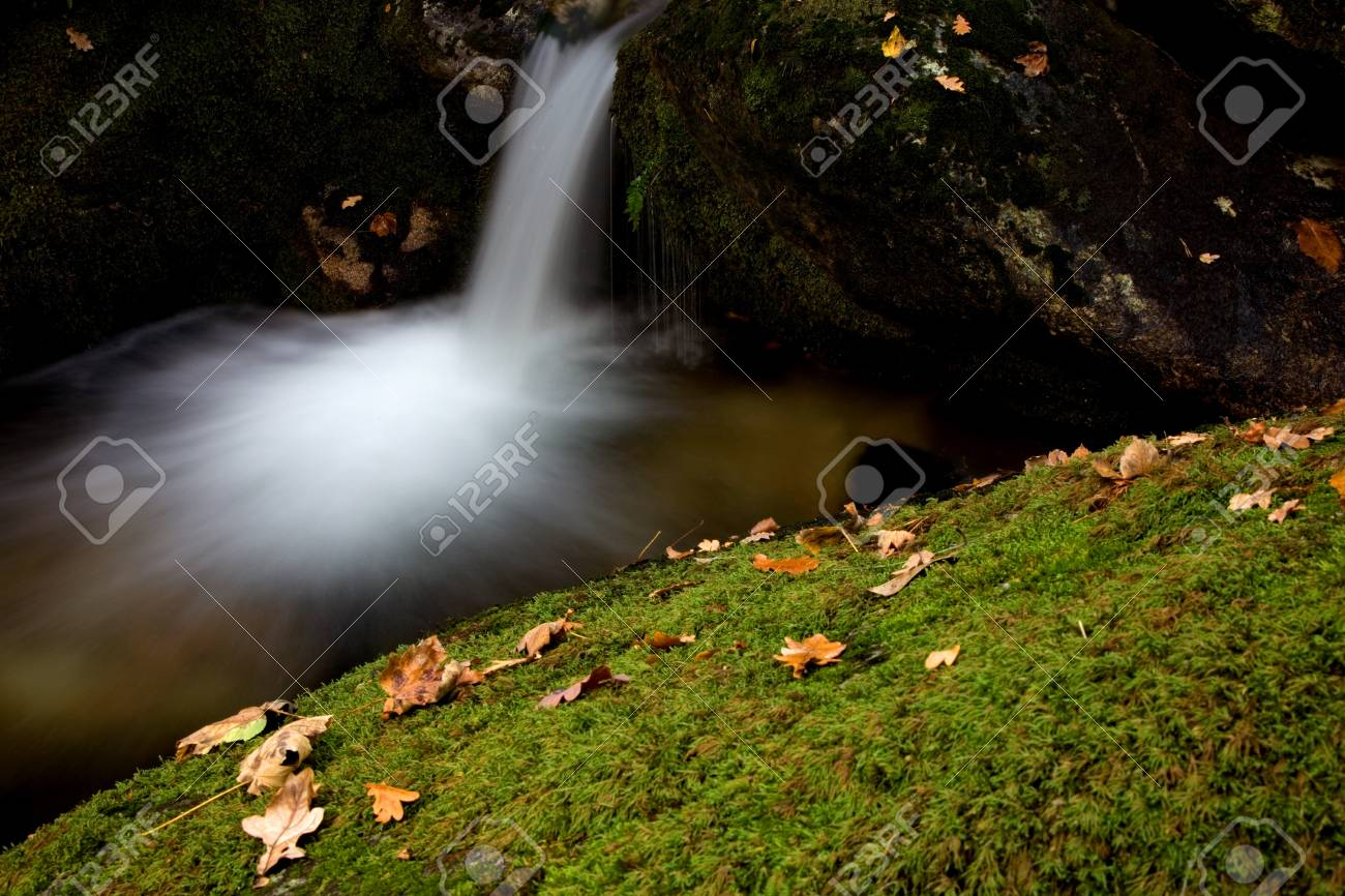small river in the portuguese national park Stock Photo - 17418662