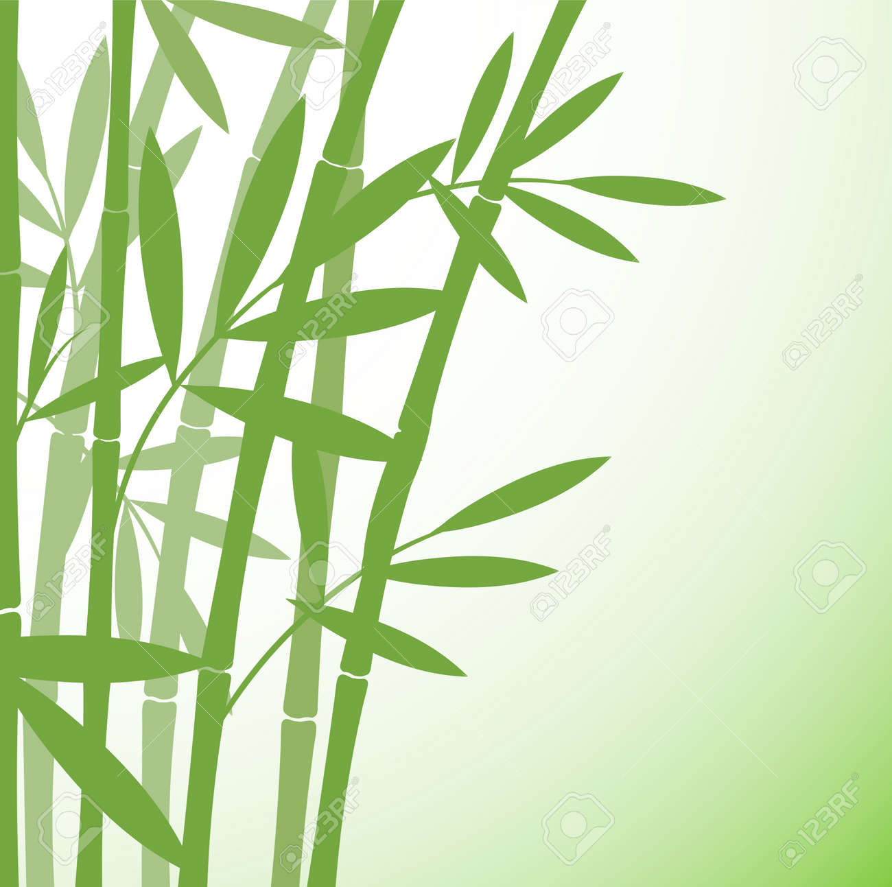 Chinese Or Japanese Bamboo Grass Oriental Wallpaper Stock Vector Royalty Free Cliparts Vectors And Stock Illustration Image 95551230