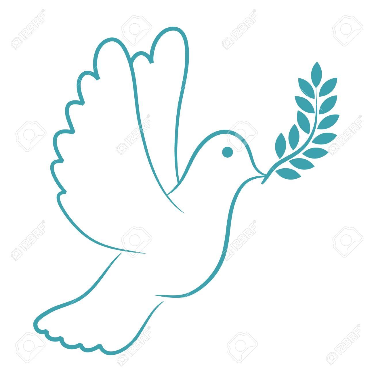 Peace Dove Blue - 105442257