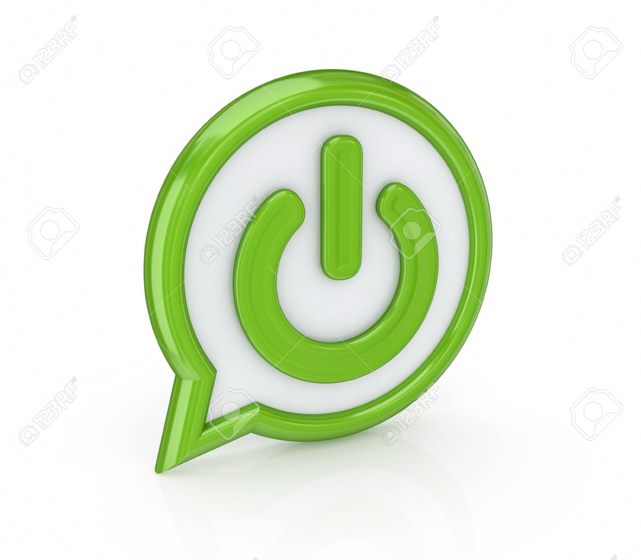 Power button Stock Photo - 14072894