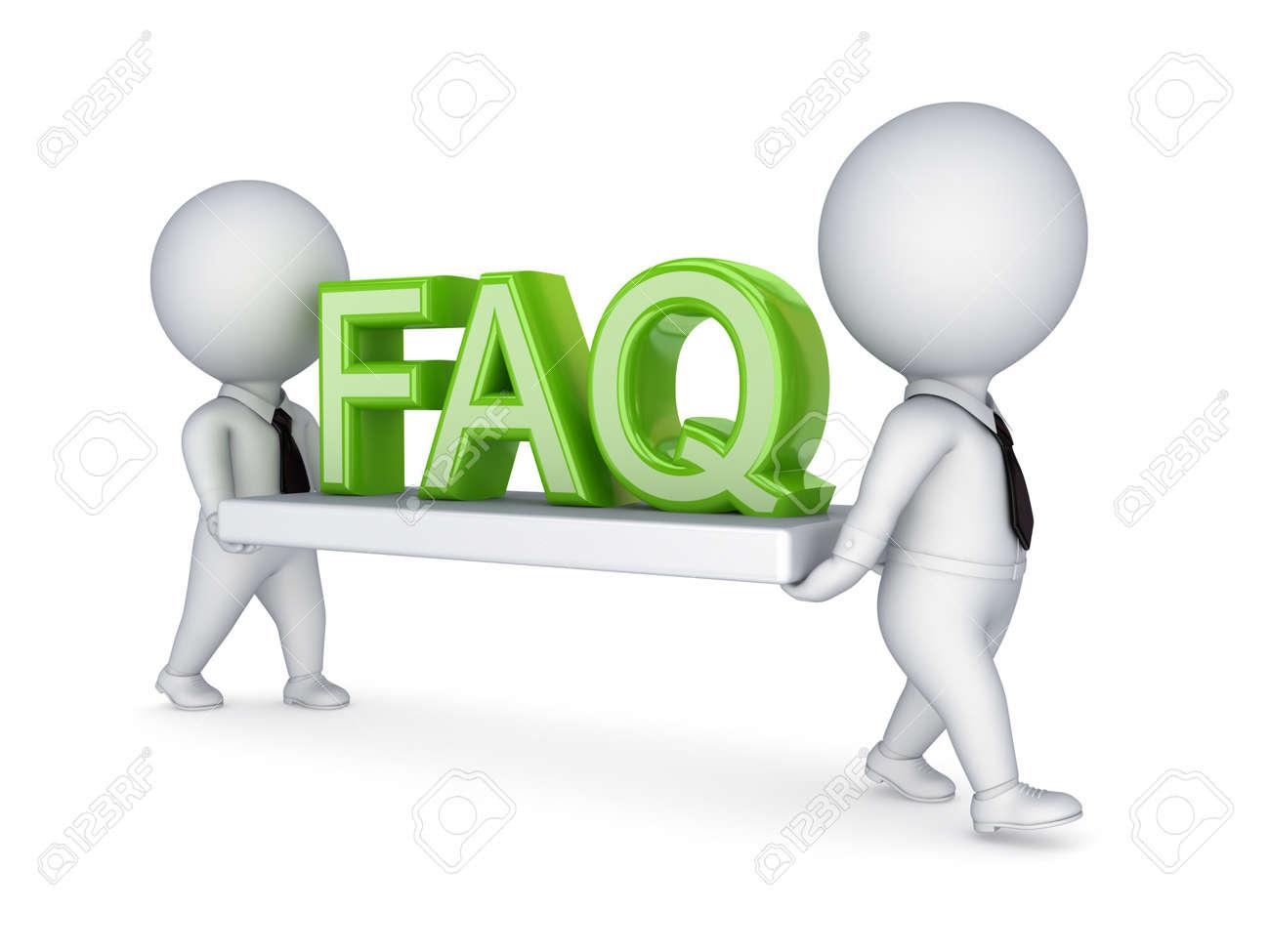 FAQ concept Stock Photo - 14452040