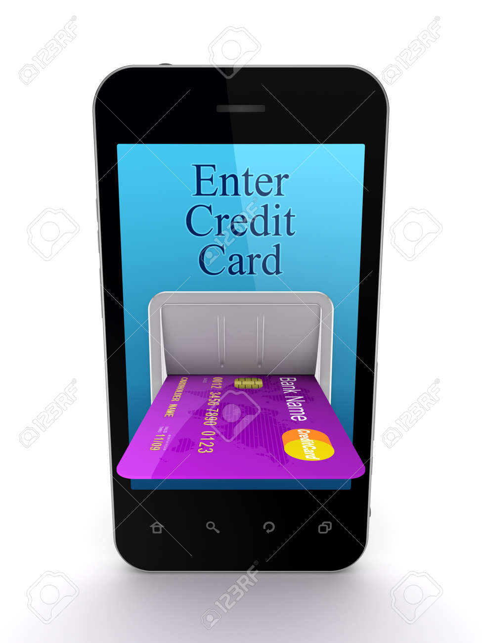 Online payments concept Stock Photo - 15534360