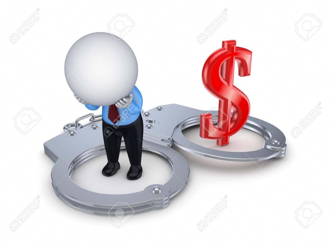 Financial crime concept Stock Photo - 15614367