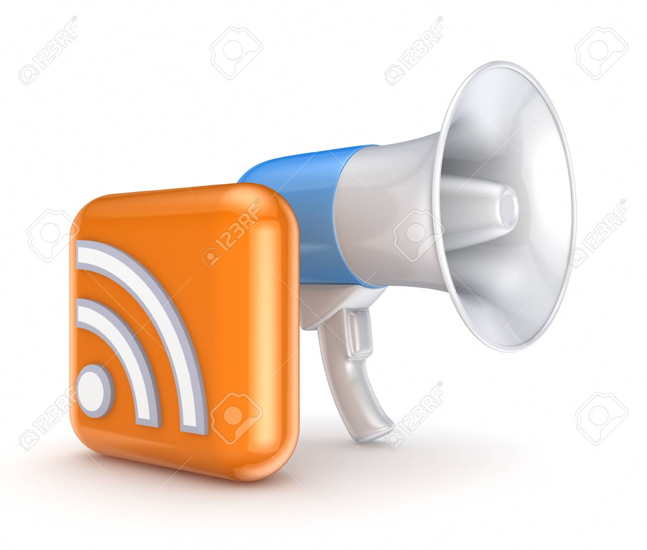 RSS concept Stock Photo - 15667092