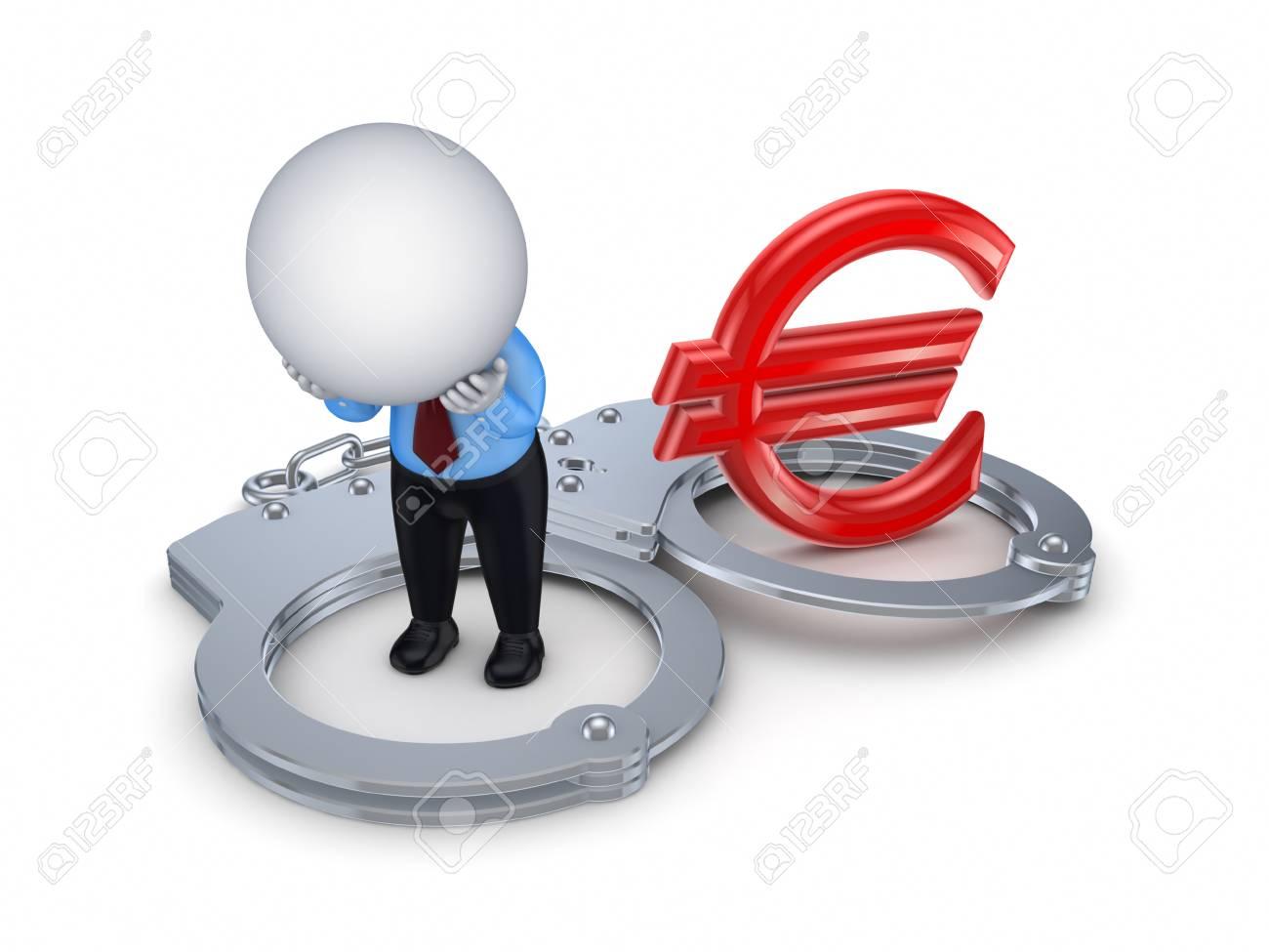 Financial crime concept Stock Photo - 17866942