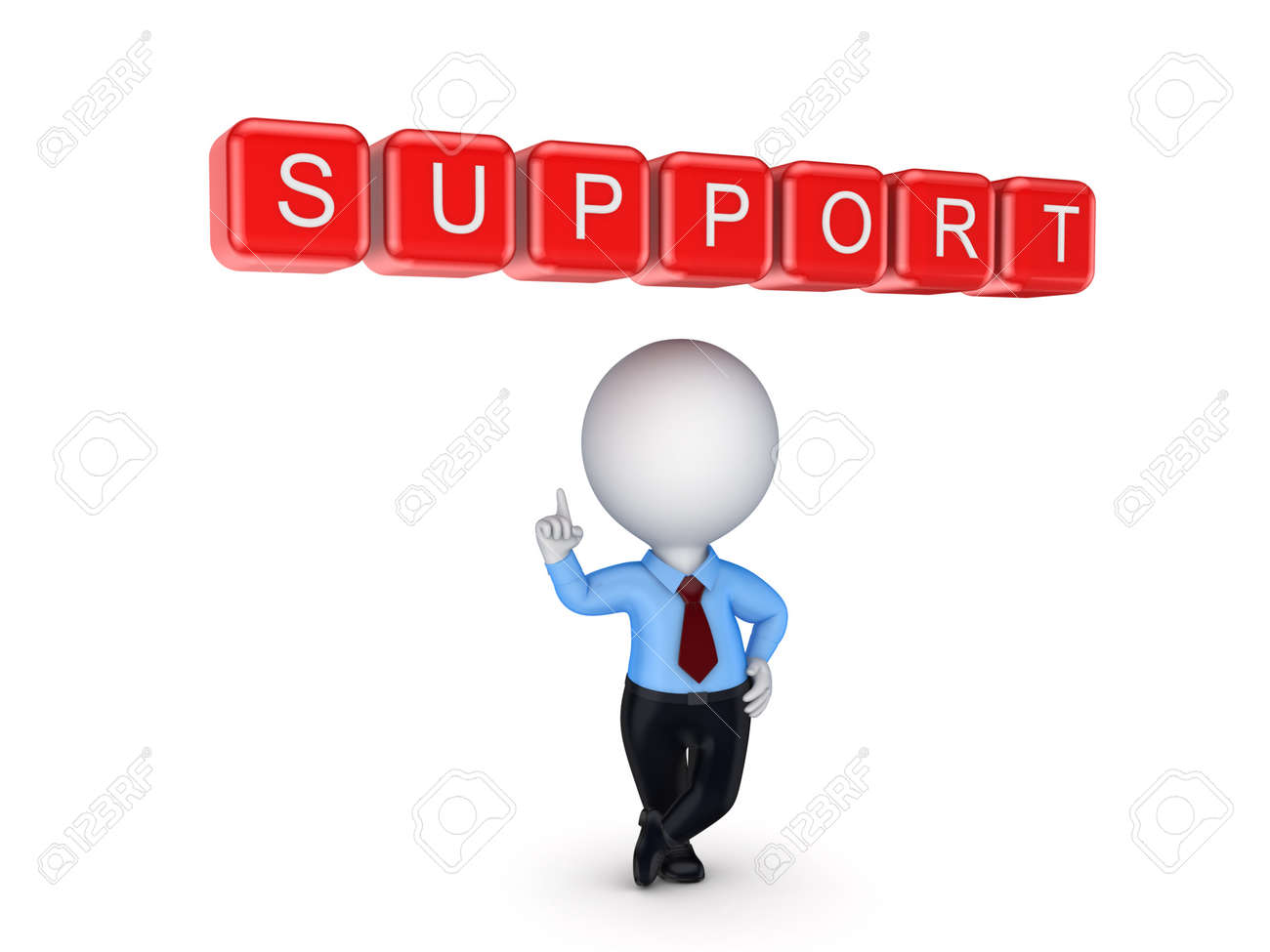 Support concept Stock Photo - 18314300