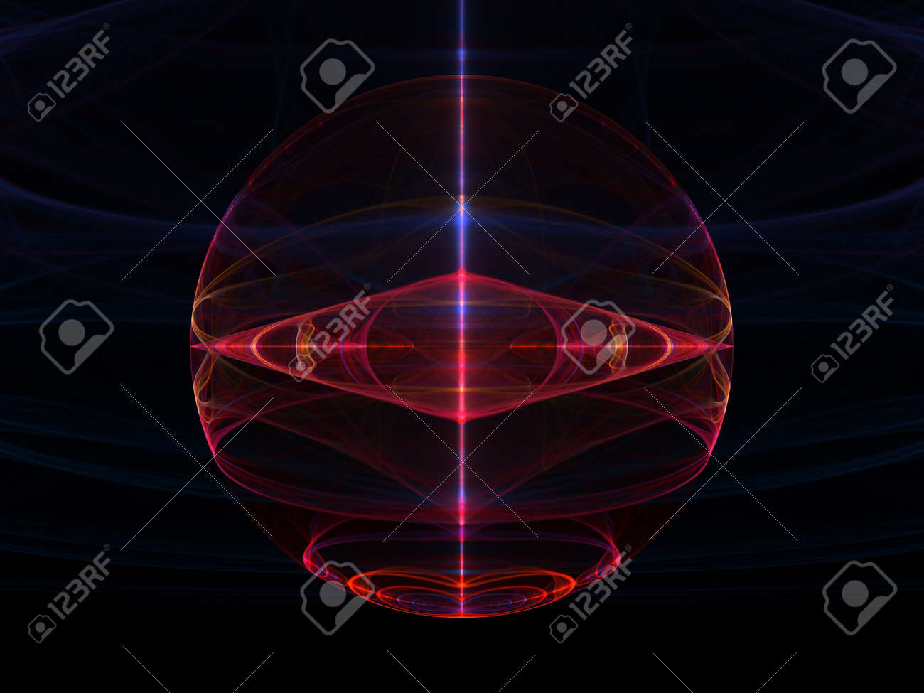 3d rendered abstract composition Stock Photo - 18314320