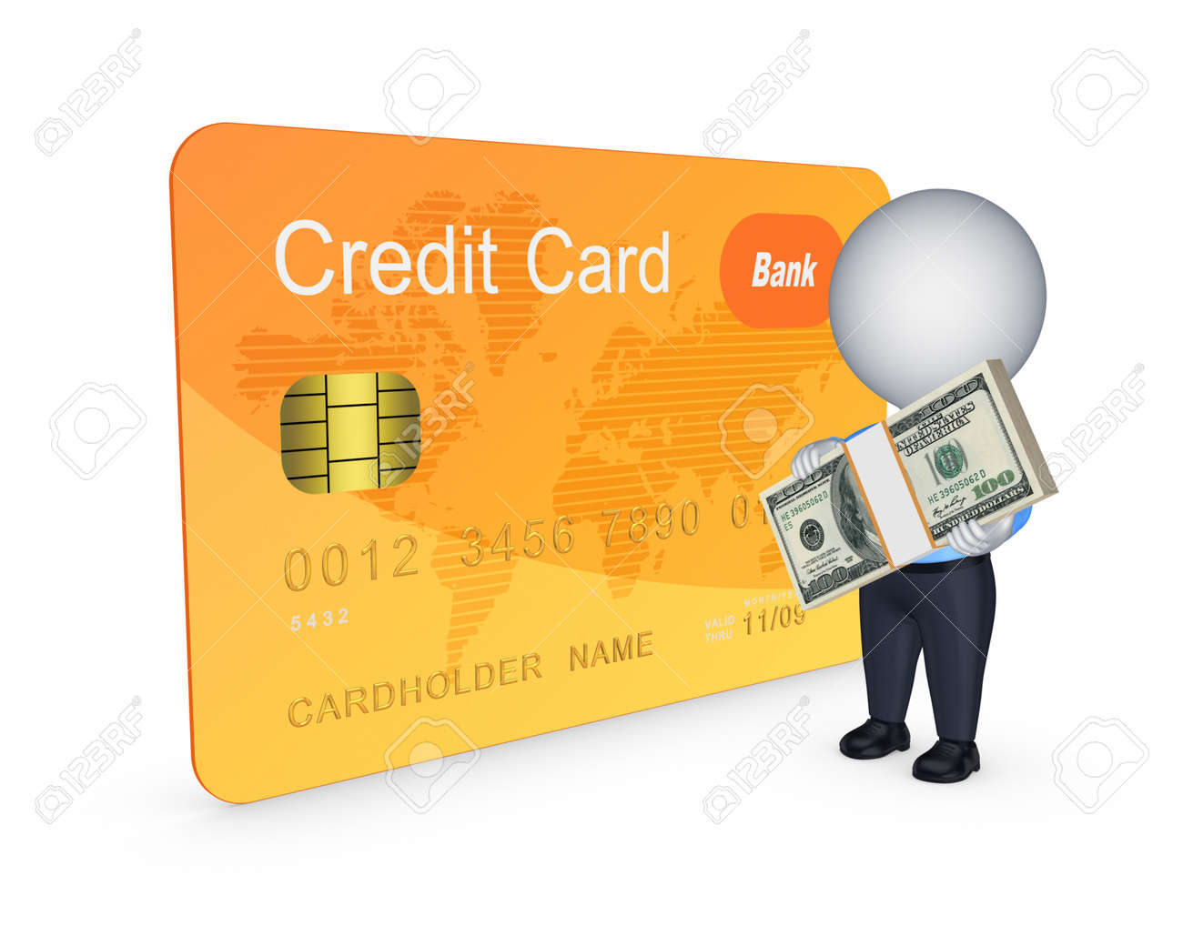 Credit card concept Stock Photo - 20654841