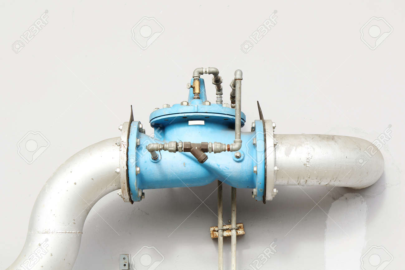 Main Faucet Of Water Stock Photo, Picture And Royalty Free Image ...
