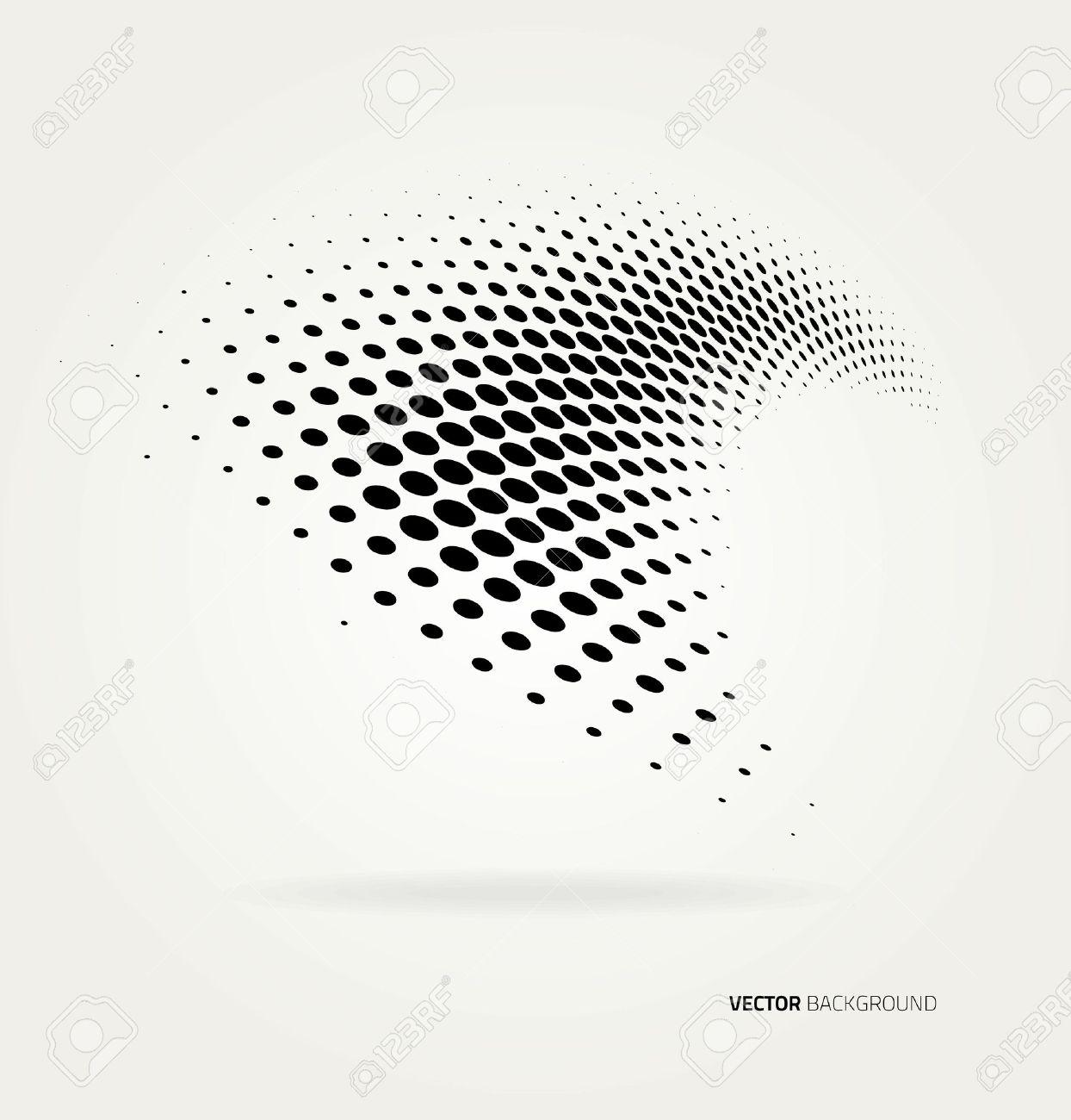 Vector halftone dots. - 35835584