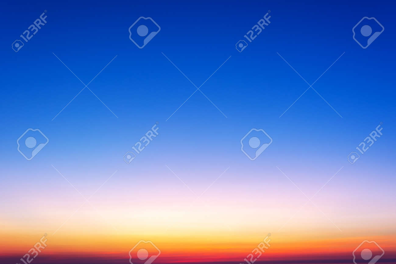 Sunset Gradient Background Stock Photo Picture And Royalty Free