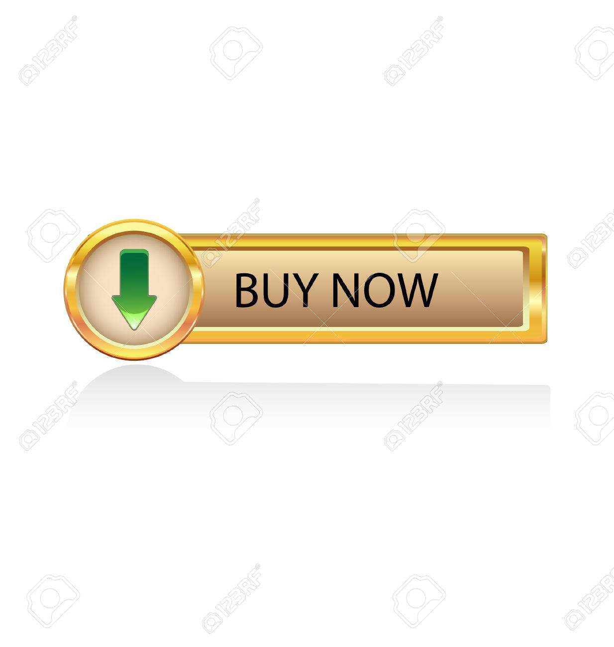 How to buy gold now - Gold Button Withbuy Now Icon Stock Vector 6486335