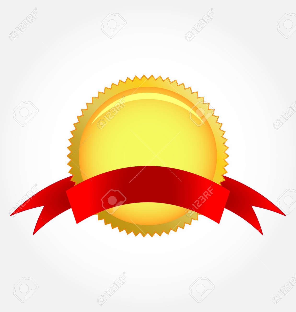 rosette ribbon Stock Vector - 7903130