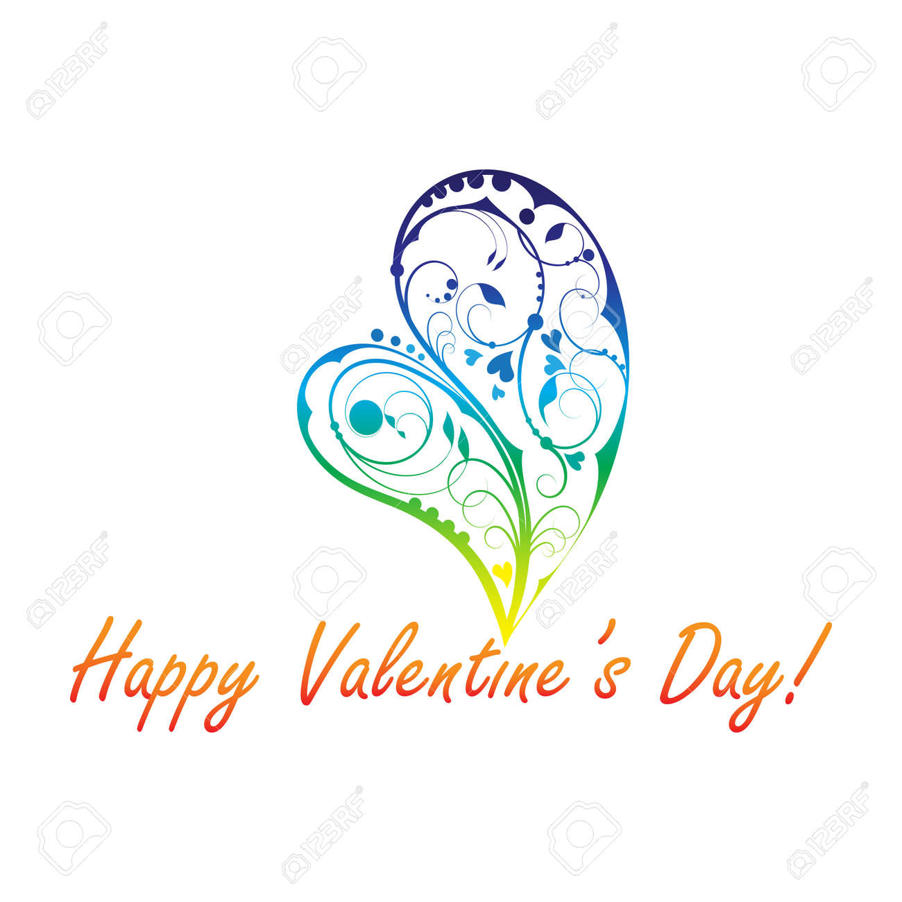 Beautiful valentine's day design Stock Vector - 17565487
