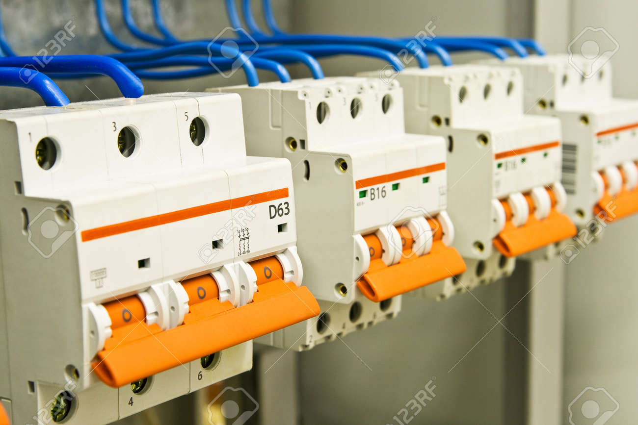The equipment for management of giving of electric energy Stock Photo - 10470151