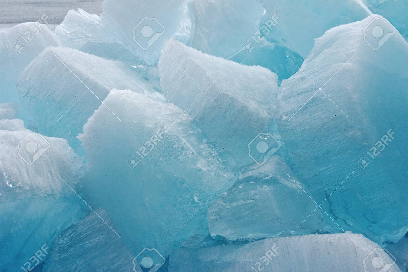 Ice blocks from fresh water for fine background Stock Photo - 17768328