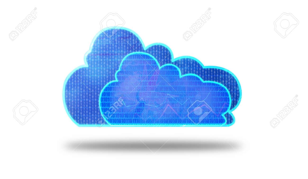 Concept of cloud computing Stock Photo - 17901851