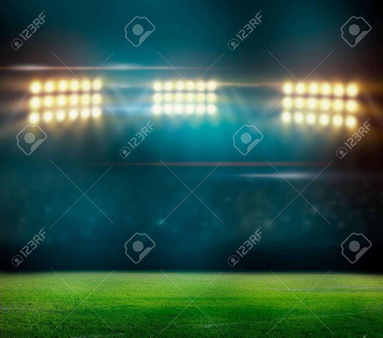 Green soccer field, - 29776648
