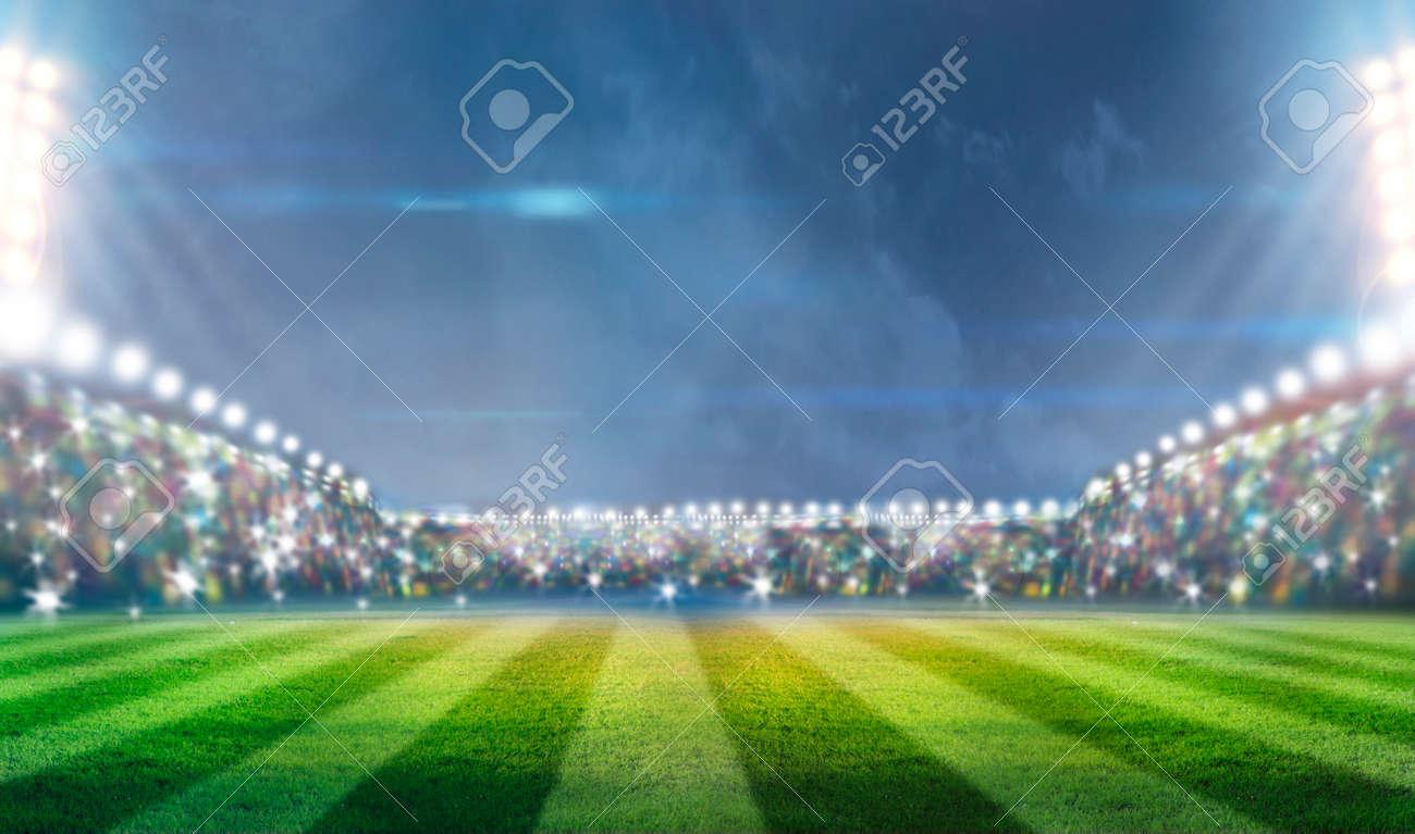 stadium in lights - 31641328