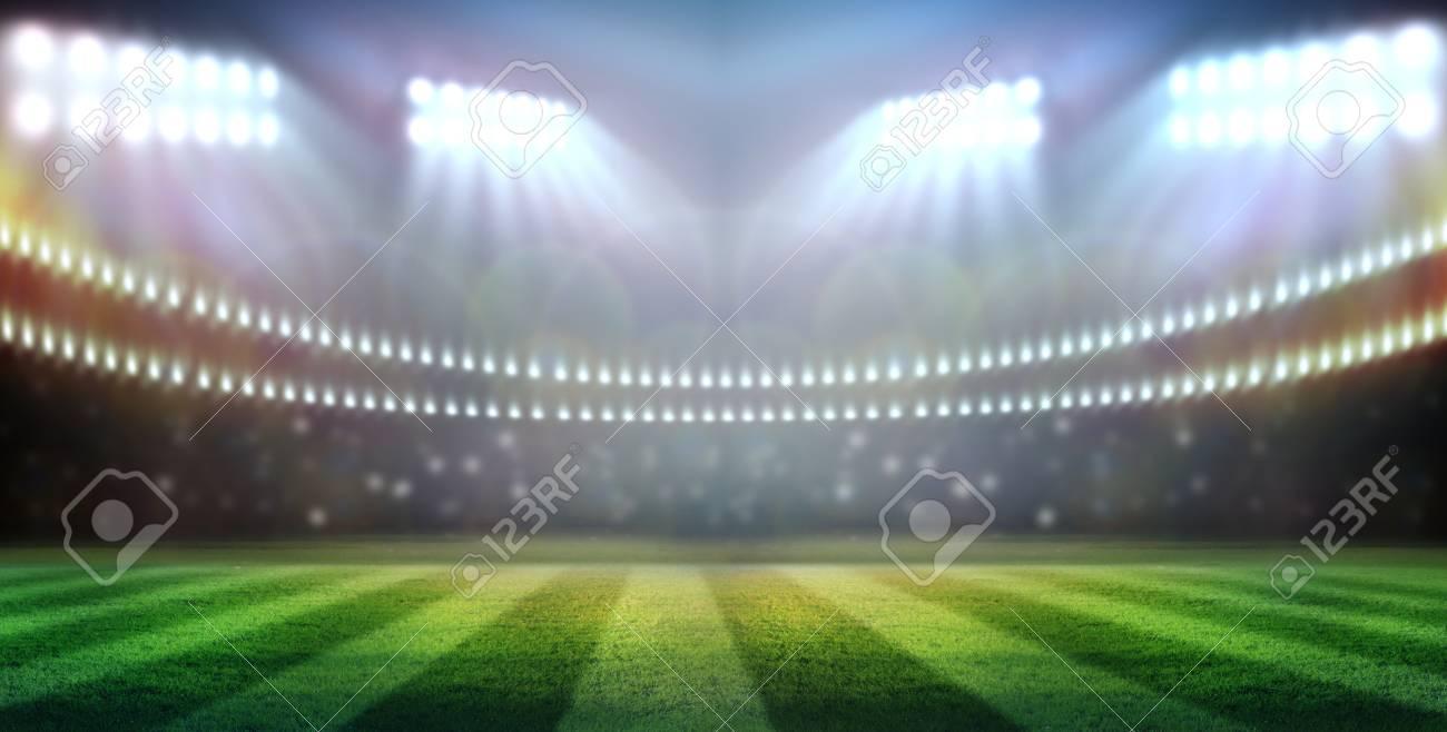 stadium in lights - 32828194