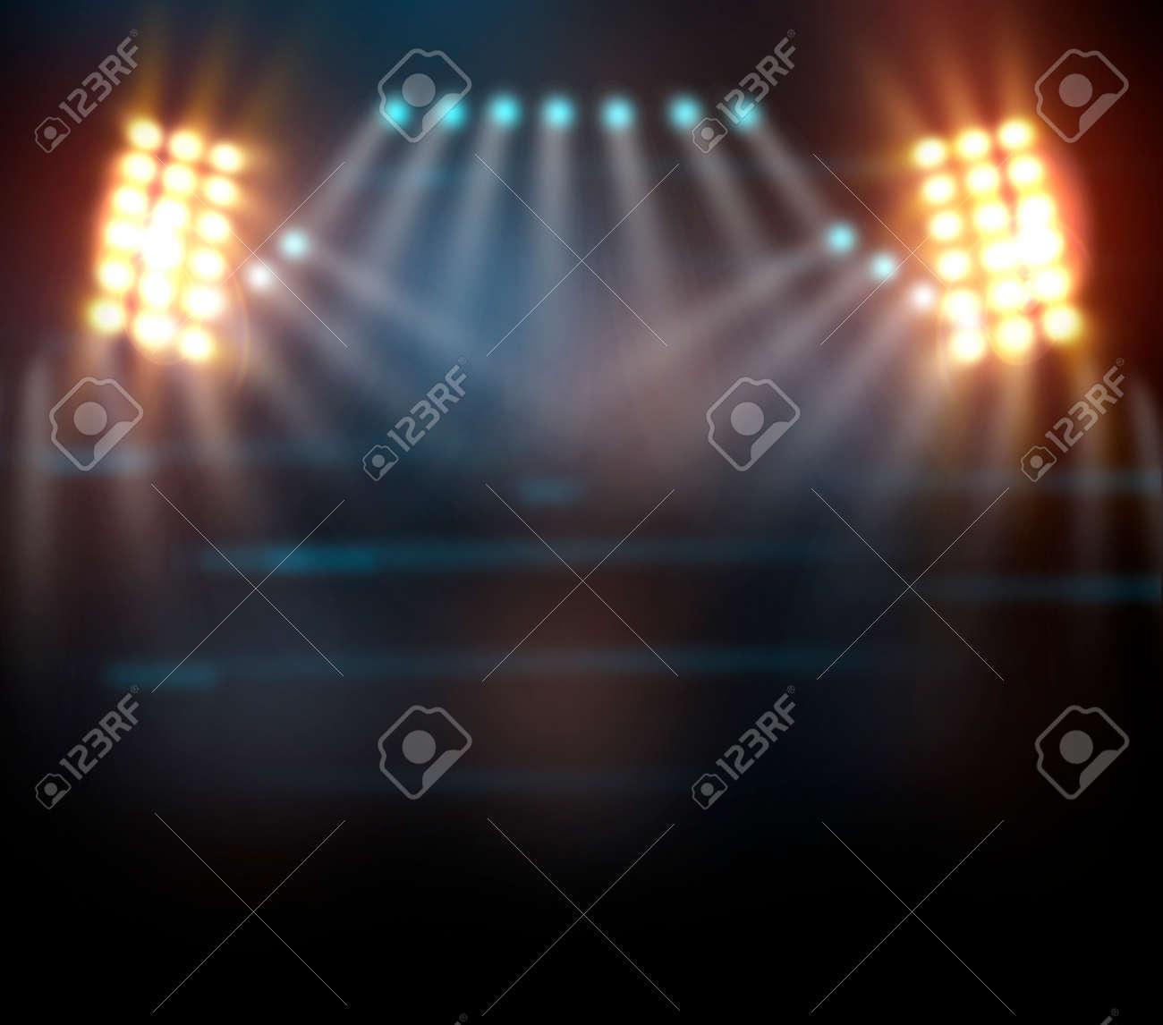 concert light show, Stage lights - 34068444
