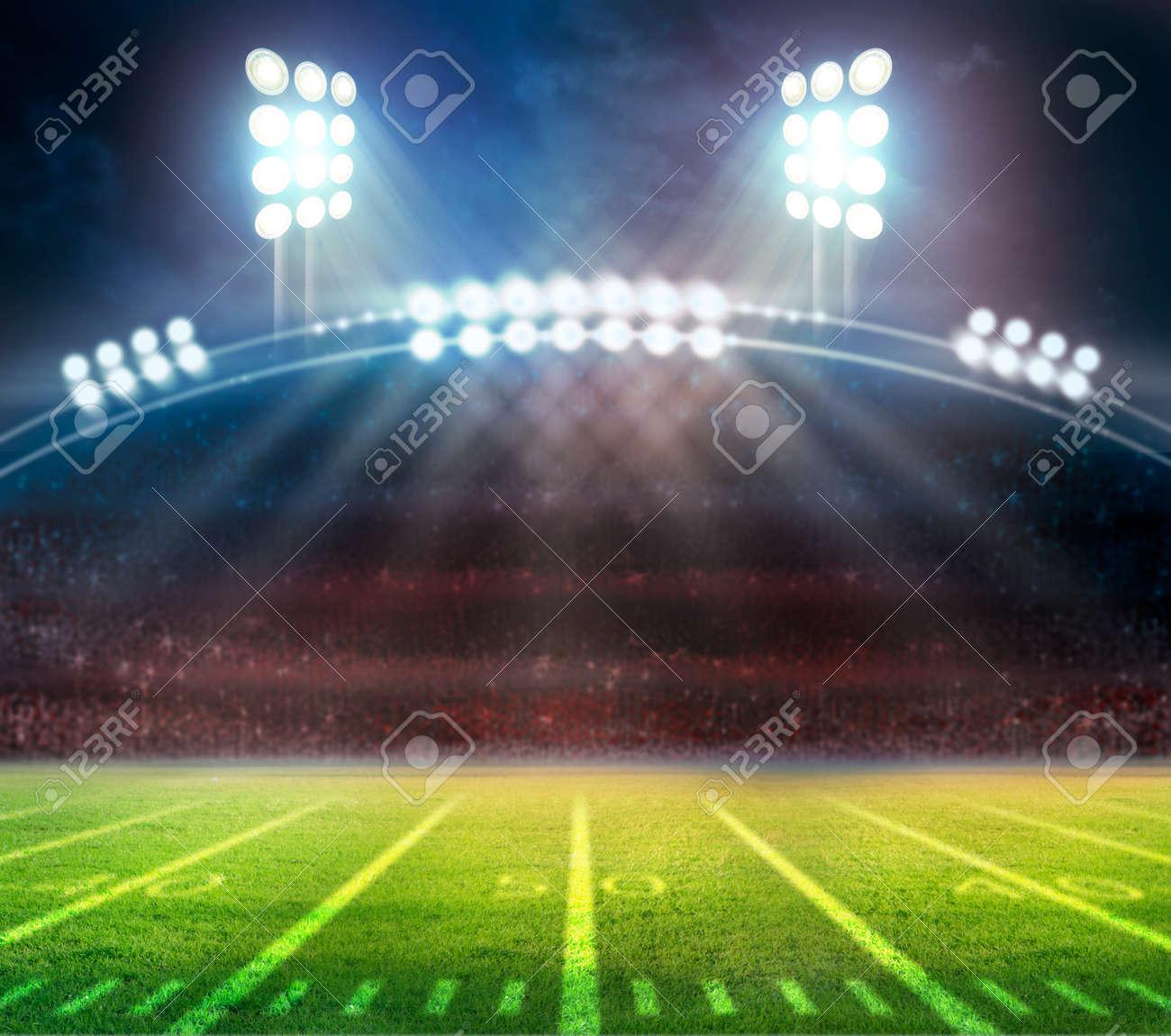 American Soccer Stadium 3d rendering - 129192519