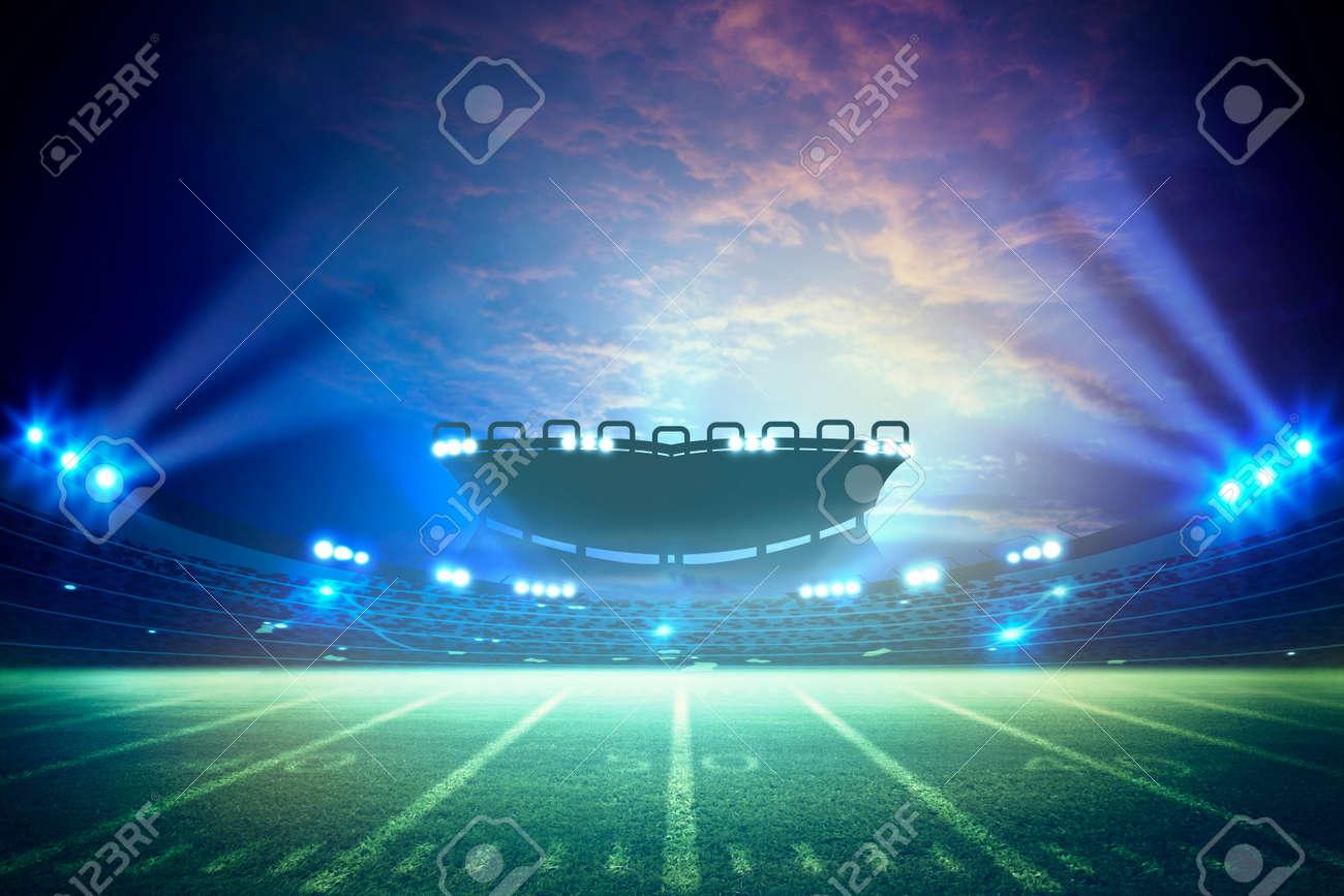 American Soccer Stadium 3d rendering - 129195442