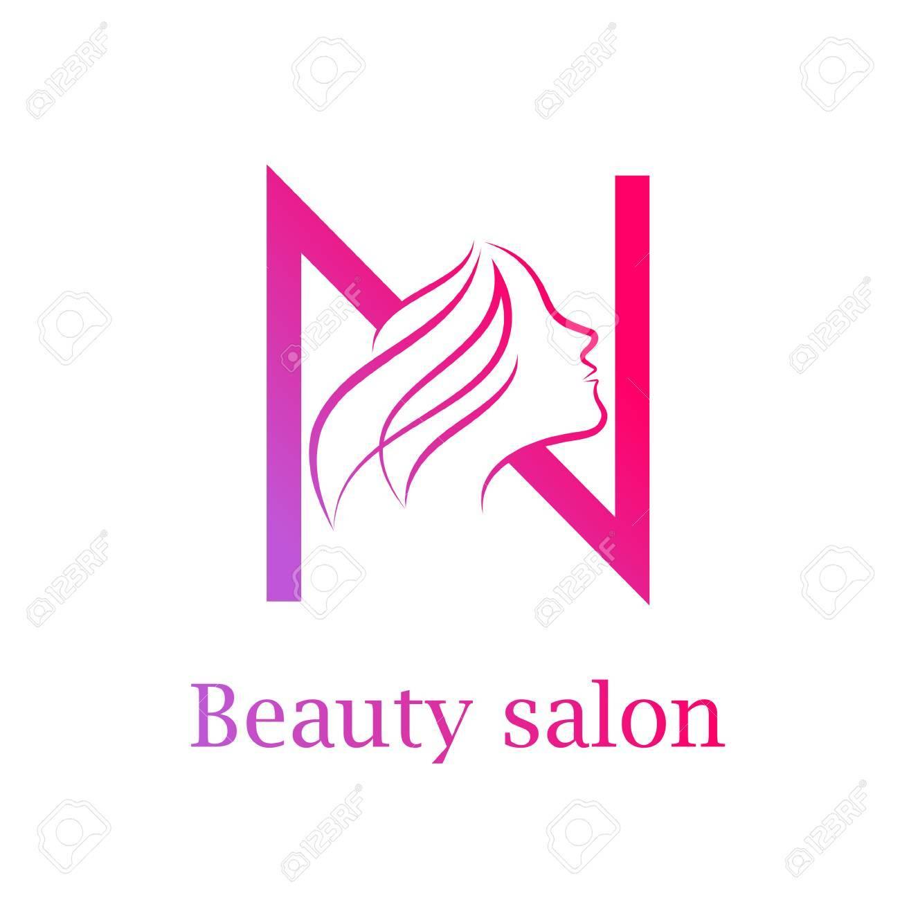 Abstract letter n logobeauty salon logo design template royalty abstract letter n logobeauty salon logo design template stock vector 84733907 maxwellsz