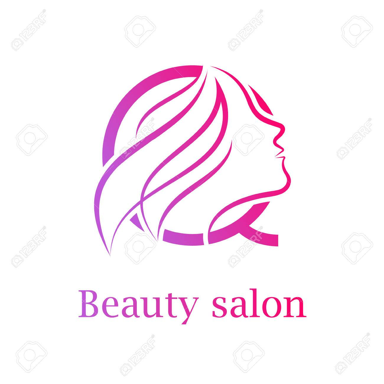 abstract letter q logobeauty salon logo design template royalty